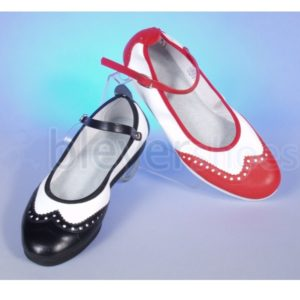 BS7141 Bleyer Lindy Hopper Strap Black & White and Red & White